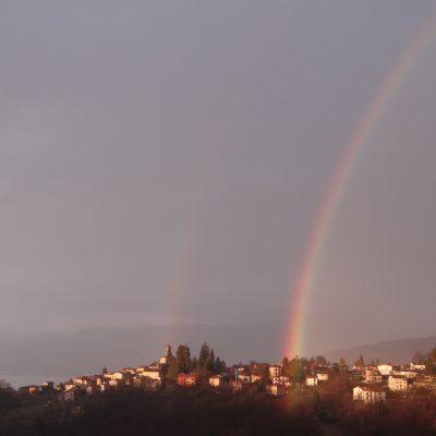 Rainbow, Italy